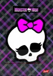 Monster High Zeszyt A5 na spirali 80k.kratka 250446